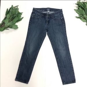 Loft || Modern Capri Skinny Medium Wash Denim